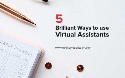5 Brilliant Ways to use Virtual Assistants