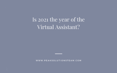 Is 2021 the year of the Virtual Assistant?