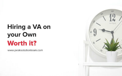Hiring a VA on your Own – Worth it?